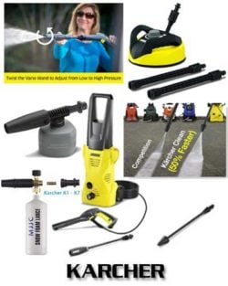 Karcher K2 Plus 1600PSI 1.25 GPM Electric Pressure Washer