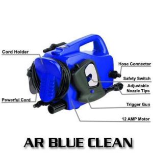 AR Blue Clean AR118 1500 PSI 1.5 GPM Hand Carry Electric Pressure Washer Review