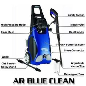 AR Blue Clean AR383 1900 PSI 1.5 GPM 14 Amp Electric Pressure Washer Review