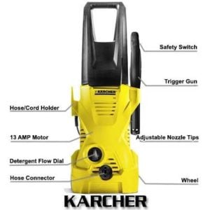 Karcher K2 Plus 1600 PSI 1.25 GPM Electric Power Pressure Washer Review