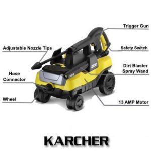 Karcher K3 Follow-Me 1800 PSI 1.3 GPM Electric Power Pressure Washer Review