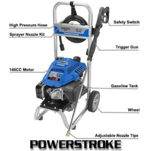 Powerstroke PS80519B 2200 psi Gas Pressure Washer Review