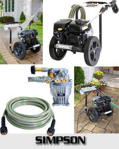 SIMPSON Cleaning MS60763S 3000 PSI 2.4 GPM Gas Pressure Washer