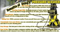 benefits of using a pressure washer