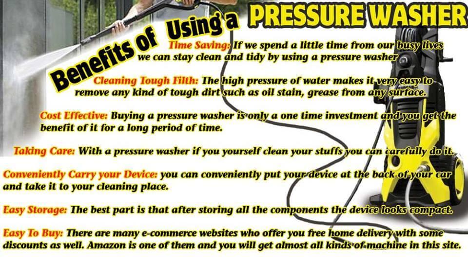 Pressure Washer Gun >> Top 7 Benefits of Using a Pressure Washer