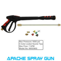 pressure washer spray gun