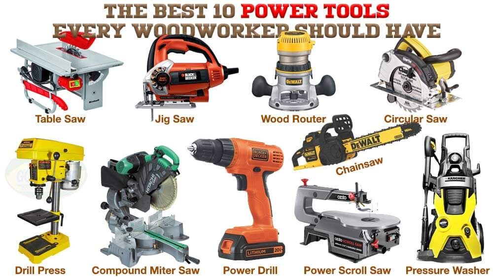 The 10 Best Power Tools Every Woodworker Should Have