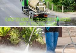 how to run a pressure washer off a water tank