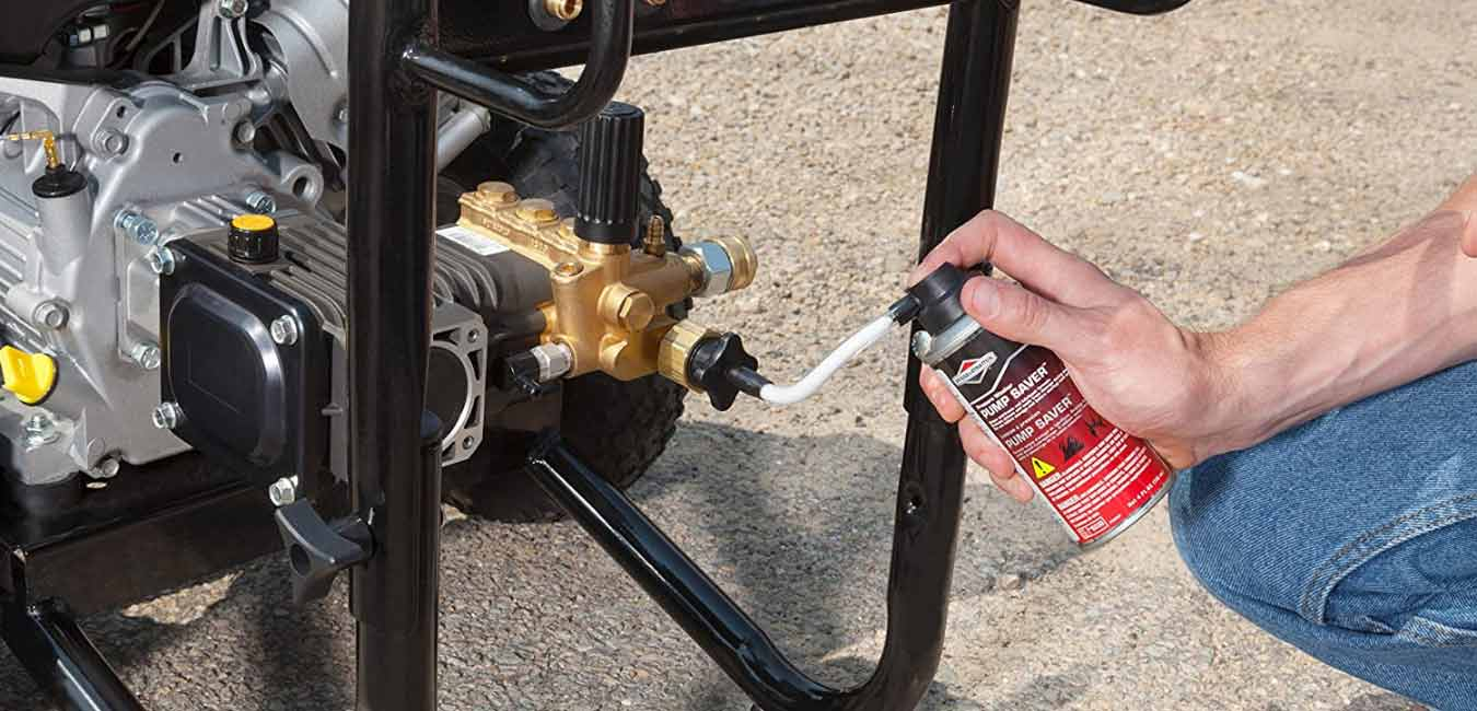 What is Pressure Washer Pump Saver Made of