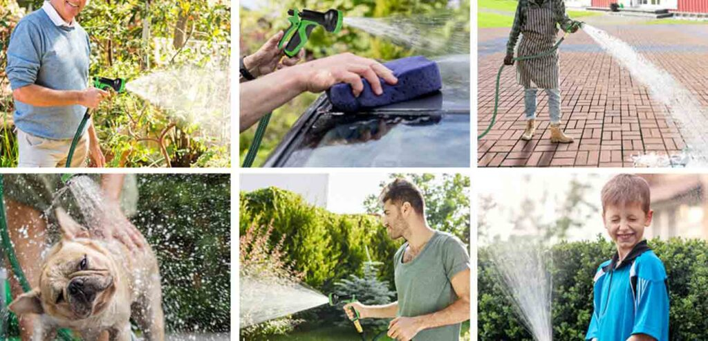 Can you pressure wash with a garden hose